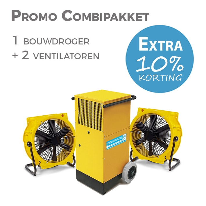 Bouwdroger combipacket